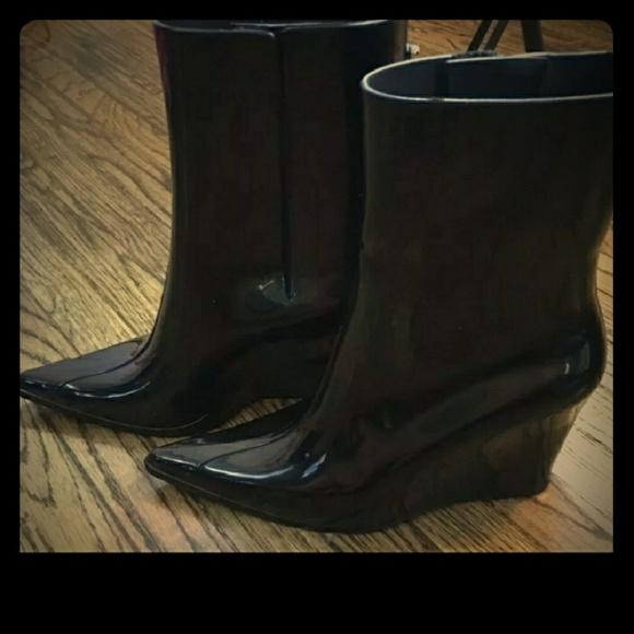 Melissa Shoes   Pointed Toe Wedge Rain